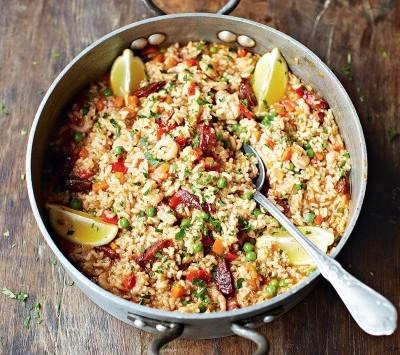 Paella y otros desastres culinarios de recetas españolas