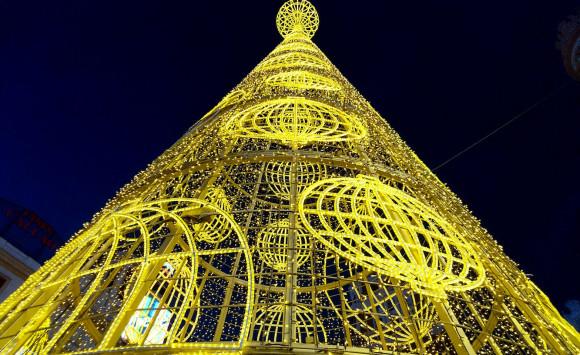 Luces de Navidad que dan felicidad