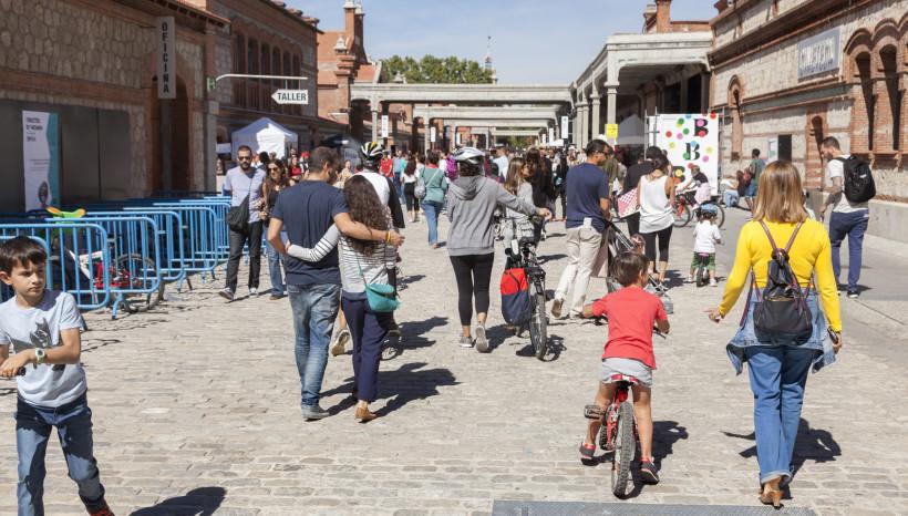 La fiesta de la bici de Madrid
